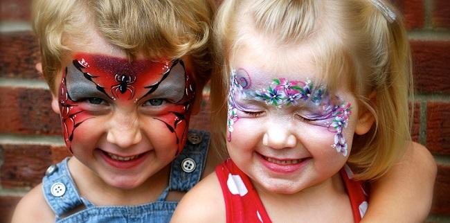 Cherryfest face painters