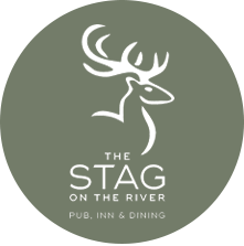 The Stag on the River logo