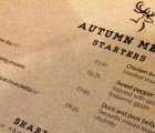 As the seasons turn, so does our menu