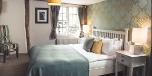 Double bedroom at The Stag on the River