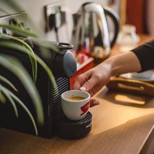In-room Nespresso machines